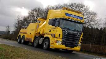 Scania R500 voor Wielsma Berging