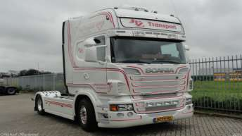 Scania R560 voor JTZ Transport