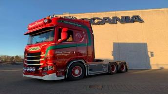 Scania S650 voor Steen Petersen (DK)