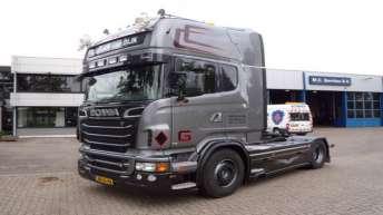 Scania R500 voor Gertjan van Dijk Transport