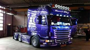 Scania R500 voor Marcel Klop