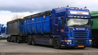 Scania R500 voor Sandstra