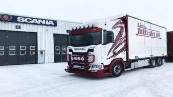 Scania S580 voor Limafrakt AB