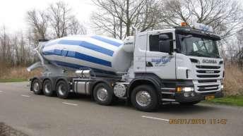 Scania R500 voor V. Oort uit Heesch
