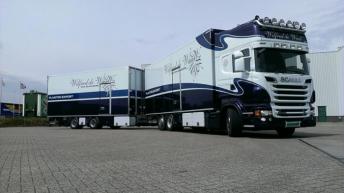 Scania R730 voor Wilfried de Waal