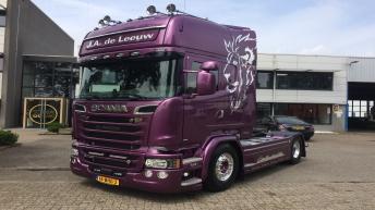 Scania R730 voor J.A. de Leeuw
