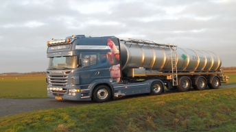Scania R560 voor Harry Gerrits