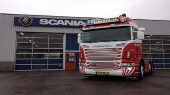 Scania R500 voor Henken Transport