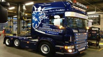 Scania R500 voor Ron Poppelaars