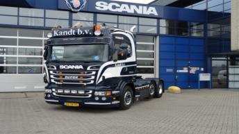 Scania R560 voor Kandt B.V.