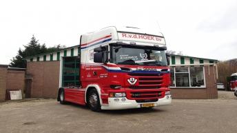 Scania V8 R520 - R.v.d. Hoek bv