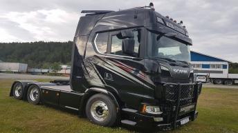 Nieuwe Scania S650 voor Claus Thomassen AS (NO)