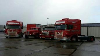 Twee Scania R500's voor J.W.J. Rumping & Zn. b.v.