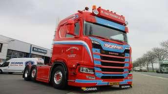 Scania S520 voor H. van Toorn & Zn.