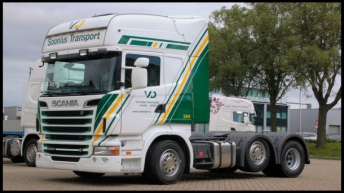 Scania R500 voor Soonius Transport
