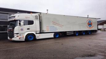 Scania R580 voor G.A. Doorzo