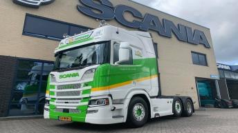 Scania R520 voor Top Onions