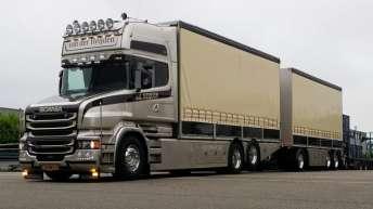 Scania T730 voor Van der Heijden