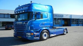 Scania R560 voor Nico v.d. Bunt Transport