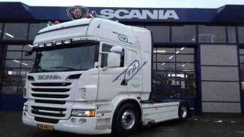 Scania R500 voor J. Boks Transport uit Apeldoorn