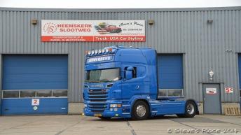 Tweedehands Scania R500 voor John Greeve
