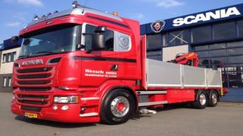 Scania R520 voor Wessels uit Rijssen