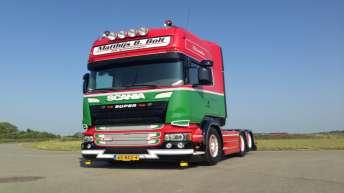 Scania R520 voor Matthijs B. Bolt