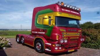 Scania R730 voor C. de Heus Transport