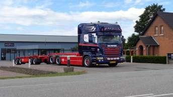 Scania R580 voor Brdr. Jensens Godstransport A/S (DK)