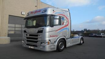 Scania R520 Nextgen voor Van Gucht Kurt Transport bvba