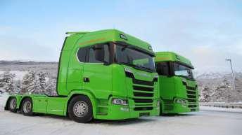 Scania S730 en S580 voor E-Trans (NO)