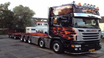 Scania R620 voor A. van der Kooij