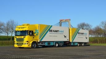 Scania R520 voor De Hart