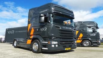 Twee Scania R520 trekkers voor Van Amersfoort Racing