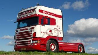 Scania R500 voor Maliepaard - Oude Tonge