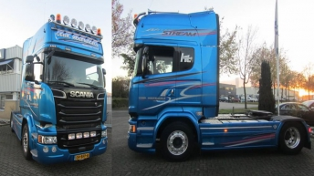 Scania V8 R580 BlueStream voor Hoefnagels Transport