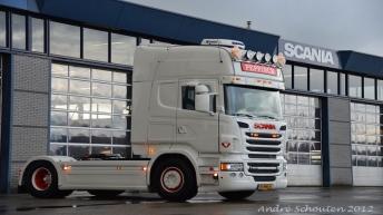 Scania R500 voor Gebroeders Peppinck