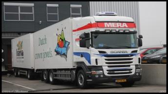 Scania R500 combinatie voor Mera