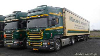 Scania R500 voor Minnaard Transport