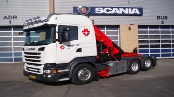 Scania R520 voor Strukton Rail (DK)