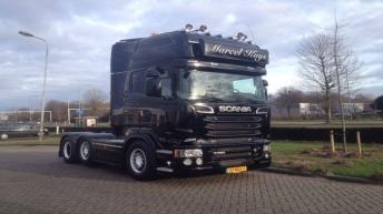 Scania R520 voor Marcel Kuys