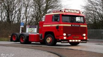 Scania 141 voor Gebr. van den Eijkel