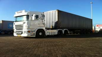 Scania R500 voor John Gabriels Transport