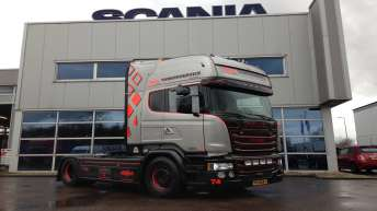 Scania V8 R580 Silver Griffin  ???/100 - DGCL/Tankerservice