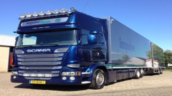 Scania R580 voor Impulse Plants