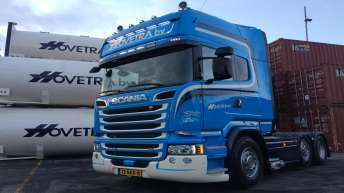Scania R520 voor Hovetra
