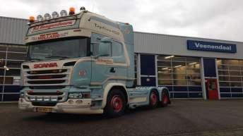 Scania V8 R520 - P.J. Hoogendoorn