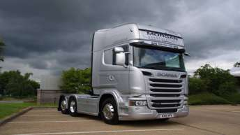 Scania R580 voor Morgan Transport (EN)