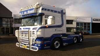 Scania R580 voor M.J. de Haas