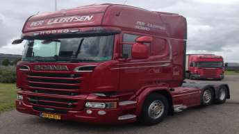 Scania R580 voor Per Ejlertsen (DK)